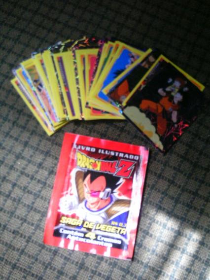 80 Figurinhas Dragon Ball Z (lote) - Leia O Anúncio!