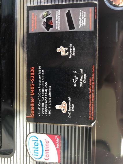 Laptop Toshiba Satellite U405-2826 250g Hd 2048mb Sdram