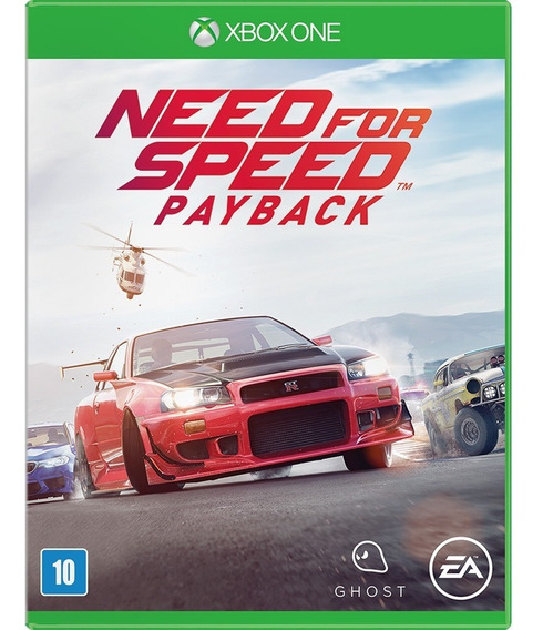 Need For Speed Payback Xbox One Midia Digital +1 Jogo Brinde
