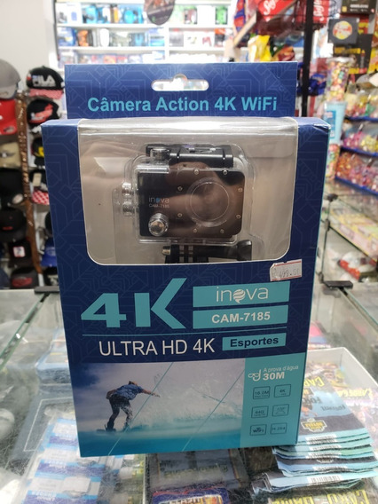 Action Cam Inova 4k Sports Ultra Hd Wifi Cam-7185