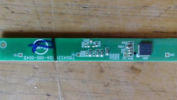 Teclado Touch Mais Sensor Tv Aoc Le32h057d