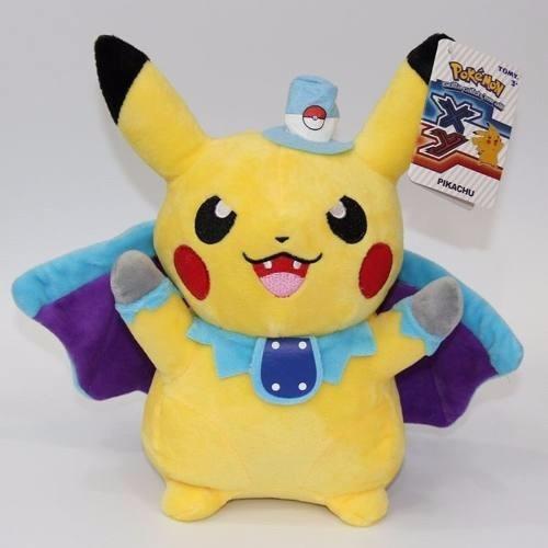 Pokémon Pelúcia Pikachu - Especial Halloween Zubat - Novo