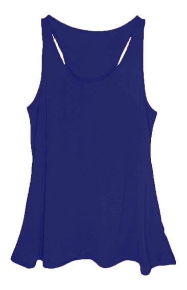 Camiseta Regata Feminina Plus Size Até G4 Nº58 Escolha Cores