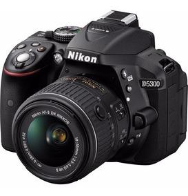 Câmera Digital Nikon Dslr D5300 18-55mm Vr 24.2mp Full Hd