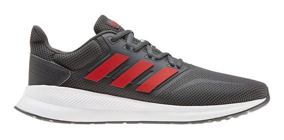 Zapatillas adidas Runfalcon Gris/rojo Hombre - Running