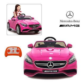 Carro Montable Carrito Electrico Mercedes Benz Amg S63 12 V