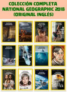 Revistas National Geographic 2018 (12 Revistas En Inglés)pdf
