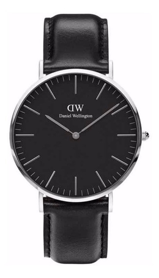 Relógio Daniel Wellington | Classic Black 40mm (silver)