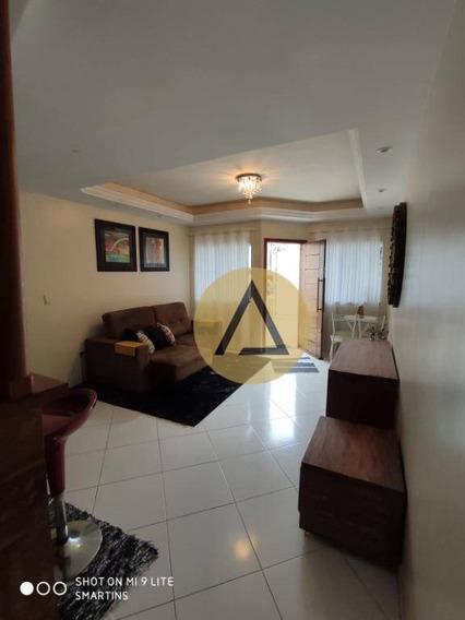 Casa Com 2 Dormitórios À Venda Por R$ 240.000 - Jardim Vitória - Macaé/rj - Ca1182
