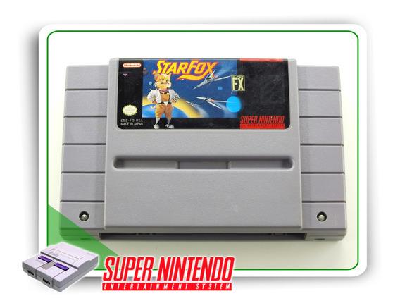 Starfox Super Nintendo Snes Original