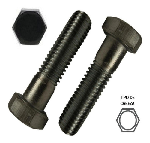 Tornillo Hexagonal Grado 5, 5/16 X 1 Negro 960 Piezas