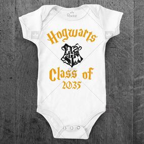9dc8186b9 Body Personalizado De Bebê Hogwarts Harry Potter - Calçados, Roupas ...