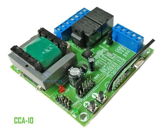 Central Placa Comando Portão Eletrônico Rcg Cca-10 Original