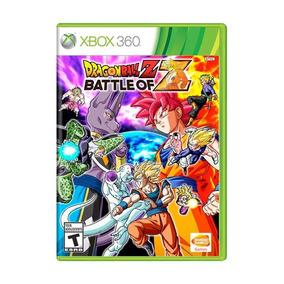 Jogo Dragon Ball Z Battle Of Z Xbox 360 Novo Frete Grátis