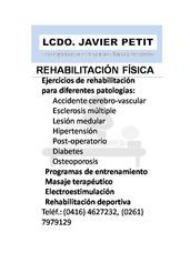 Servicios De Rehabilitación Y Terapia Física