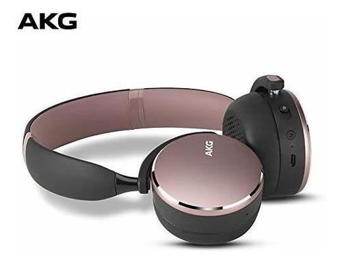 Imagen 1 de 6 de Akg Y500 Auriculares Bluetooth Inalambricos Plegables En La