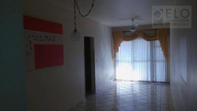 Apartamento Com 2 Dormitórios Para Alugar, 76 M² Por R$ 1.800/mês - Marapé - Santos/sp - Ap1637