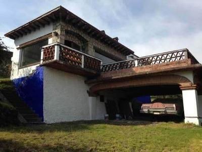 Casa Sola En San Miguel Xicalco, Carretera M¿xico Cuernavaca