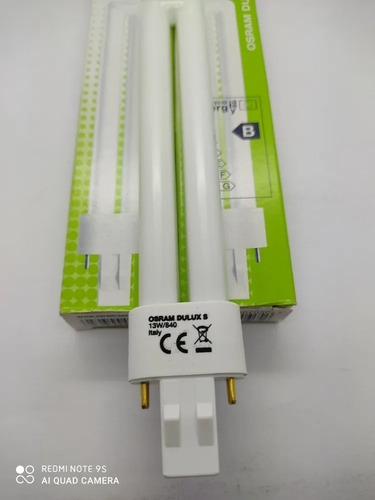 Bombillo Pl-13w Sencillos Luz Calido