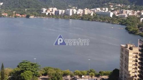 Imagem 1 de 25 de Cobertura À Venda, 4 Quartos, 1 Suíte, 2 Vagas, Lagoa - Rio De Janeiro/rj - 2086