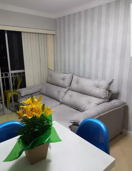Apartamento Reformado E Mobiliado No Jardim Marajoara