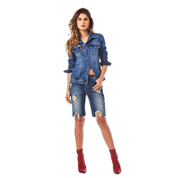 Jaqueta Clássica Morena Rosa Feminina 100002039850