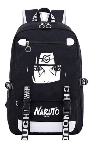 Imagen 1 de 6 de Tendencia Estudiantil Naruto Uchiha Itachi Anime Mochila