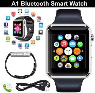 Relogio Telef Smartwatch A1 C/chip Via Bluetooth Ios/android
