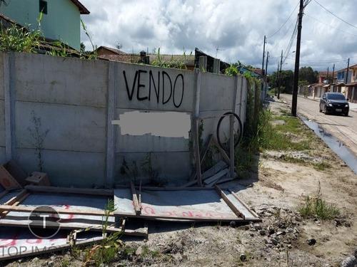 Erreno De Esquina À Venda Em Itanhaém,são Paulo, Bairro Cibratel Ii A 800 Metros Da Praia,em Rua Pavimentada, Documentação Toda Em Ordem - Te00028 - 68713011