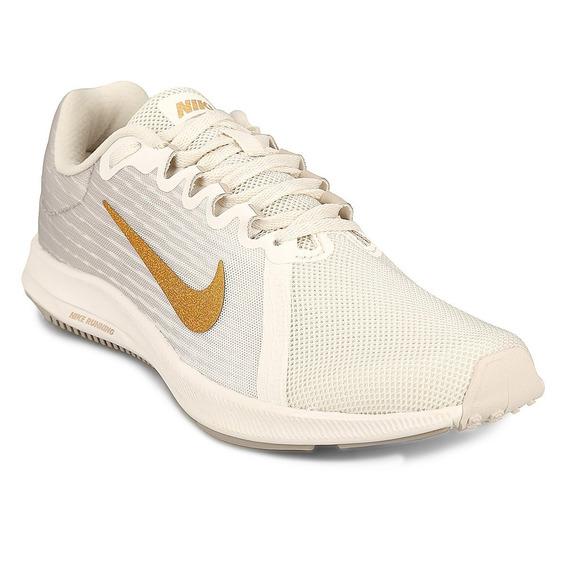 Zapatillas Nike Downshifter 8 Ii - Gris Y Blanco