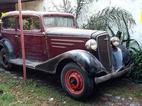 Chevrolet 1934 Tudor Original No Impala Mustang V8 Ford