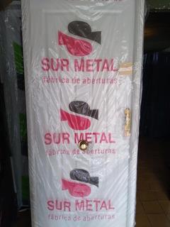 Puerta Chapa Inyectada Ciega 80x2 Sur Metal
