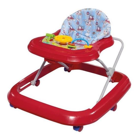 Andador Toy Tutti Baby Para Crianças De Até 15kg - Vermelho