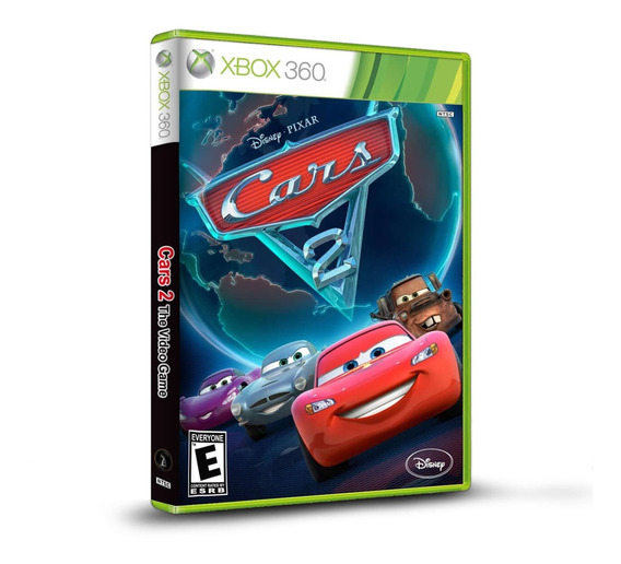 Cars Carros 2 Video Game - Original P/ Xbox 360 - Novo
