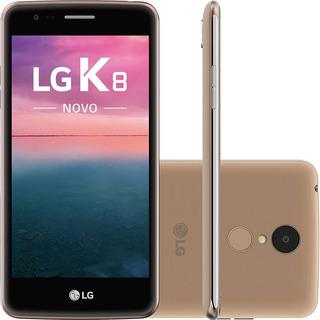 Lg K8 16gb Dual Camera 13mp 4g Celular Barato Frete Grátis