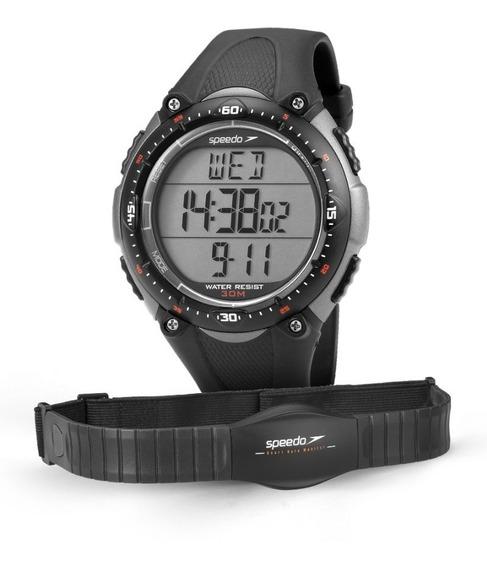 Relógio Speedo 80565goepnp2 Monitor Cardiaco Com Cinta