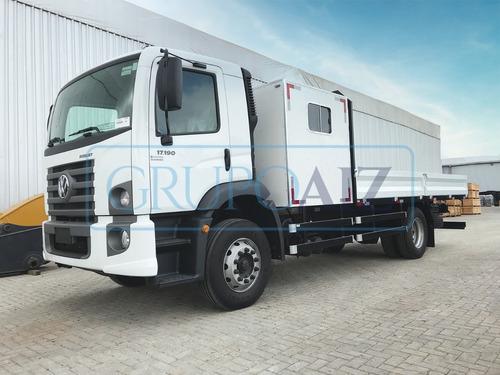Caminhão Com Cabine Suplementar Vw 17.190 Robust 0 Km 21/22