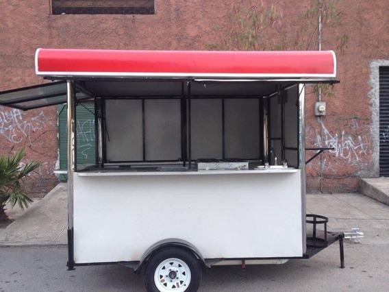 Remolque Para Venta De Comida Food Truck 2.5 X 1.5 Metros