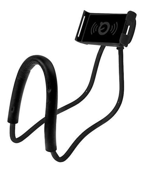Suporte Celular Articulado De Pescoco Selfie Cama Mesa Sofa