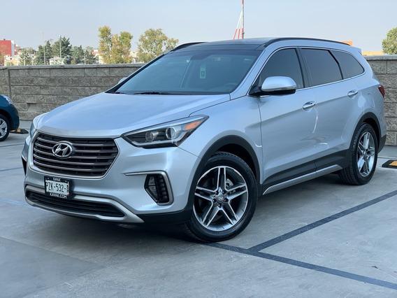 Hyundai Santa Fe Limited Qc 3 Filas 2018 Factura Original