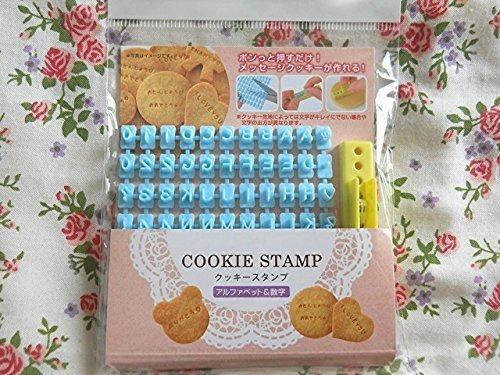 Letra Del Alfabeto Numero Galleta Fondant Cakecookie Sello I