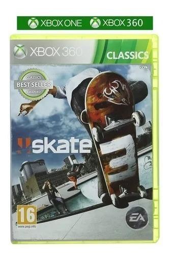 Skate 3 Xbox One E Xbox 360 Mídia Fisica Novo Original