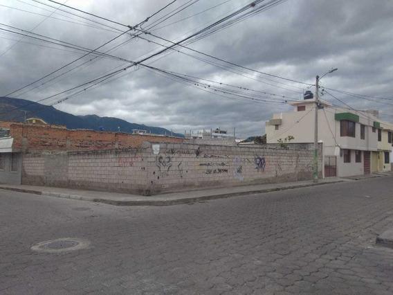 Hermoso Terreno Esquinero En Azaya-ibarra