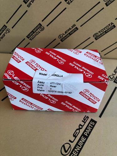 Pastillas Traseras Cerámica Corolla 2009 Al 2016  Original
