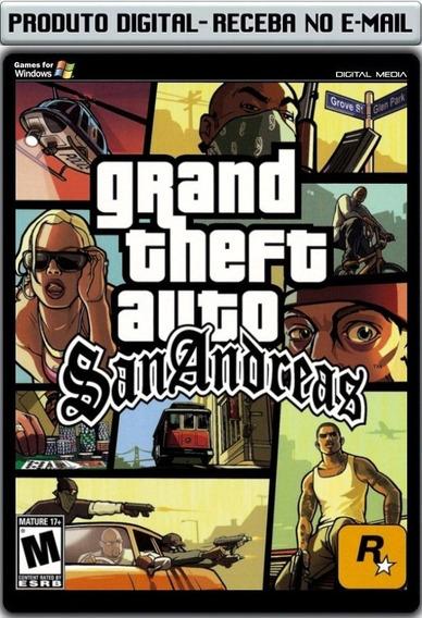 Gta San Andreas - Pc - Envio Digital