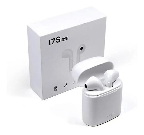 Airfones I7 Mini Tws Com Bateria De Alta Duração High Bass