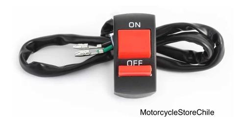 Interruptor On/off Uso En Motos O Luces De Emergencia