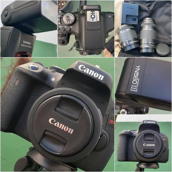 Kit Câmera Canon Eos T6i