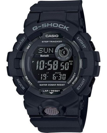 Relógio Casio G-shock G-squad Gbd-800-1bdr Passos Bluetooth