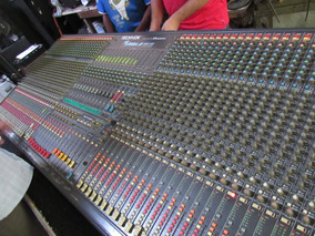 Mesa De Som Analógica Techvox 48/12 Vega 2 Com 2 Fontes.